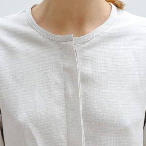 Linen Blend Safari Shirt