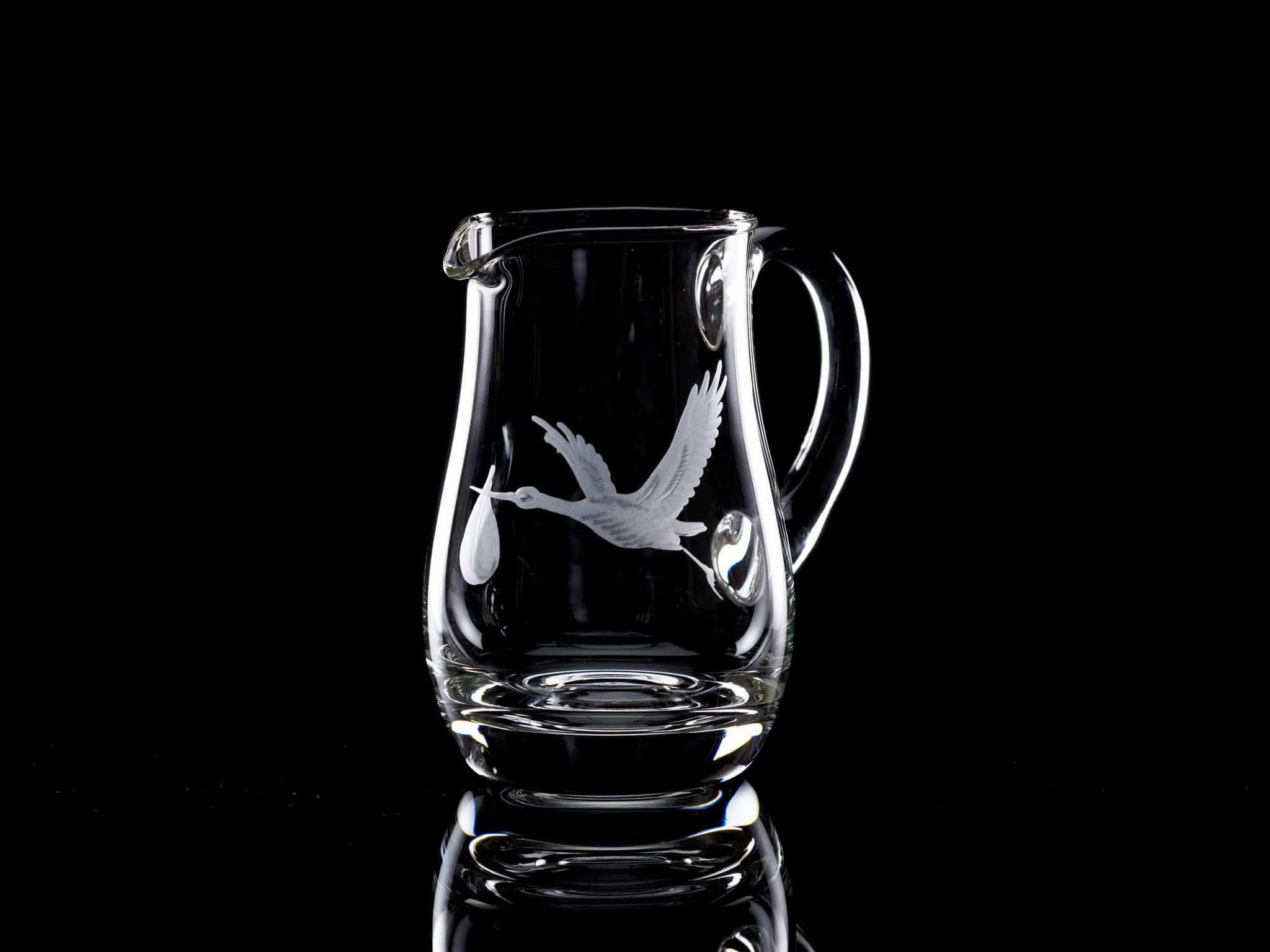 Crystal Water Jug 0.5 litre Stork