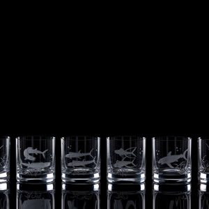 Crystal Whisky Tumblers – Set Of Six
