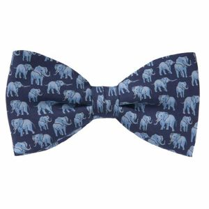 TUSK Silk Bow Ties - Untied