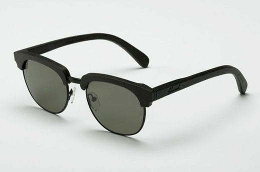 Wood Sunglasses - Dark Walnut