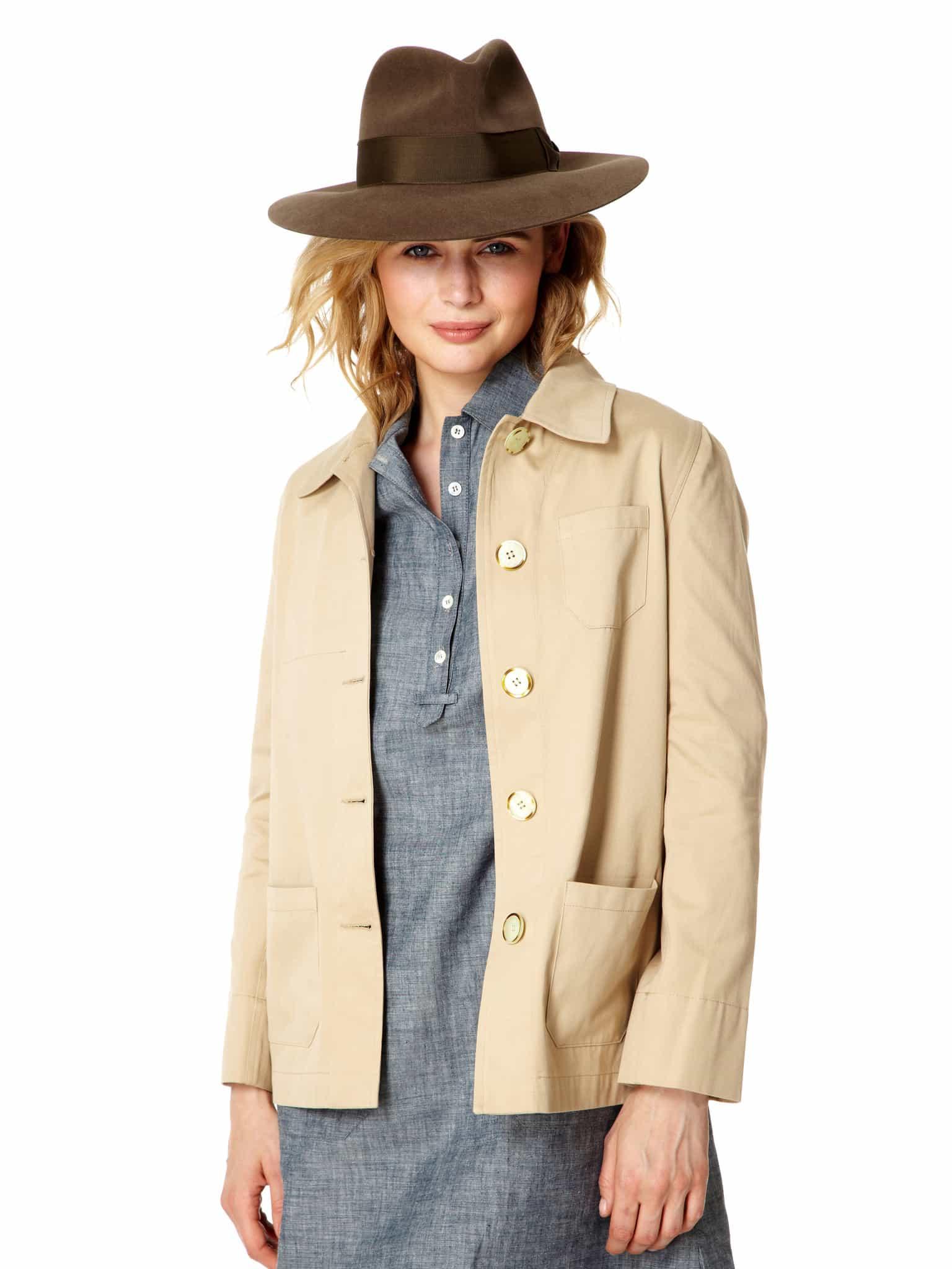 Cotton Twill Bush Jacket