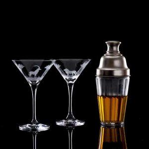 Crystal Martini Cocktail Glass