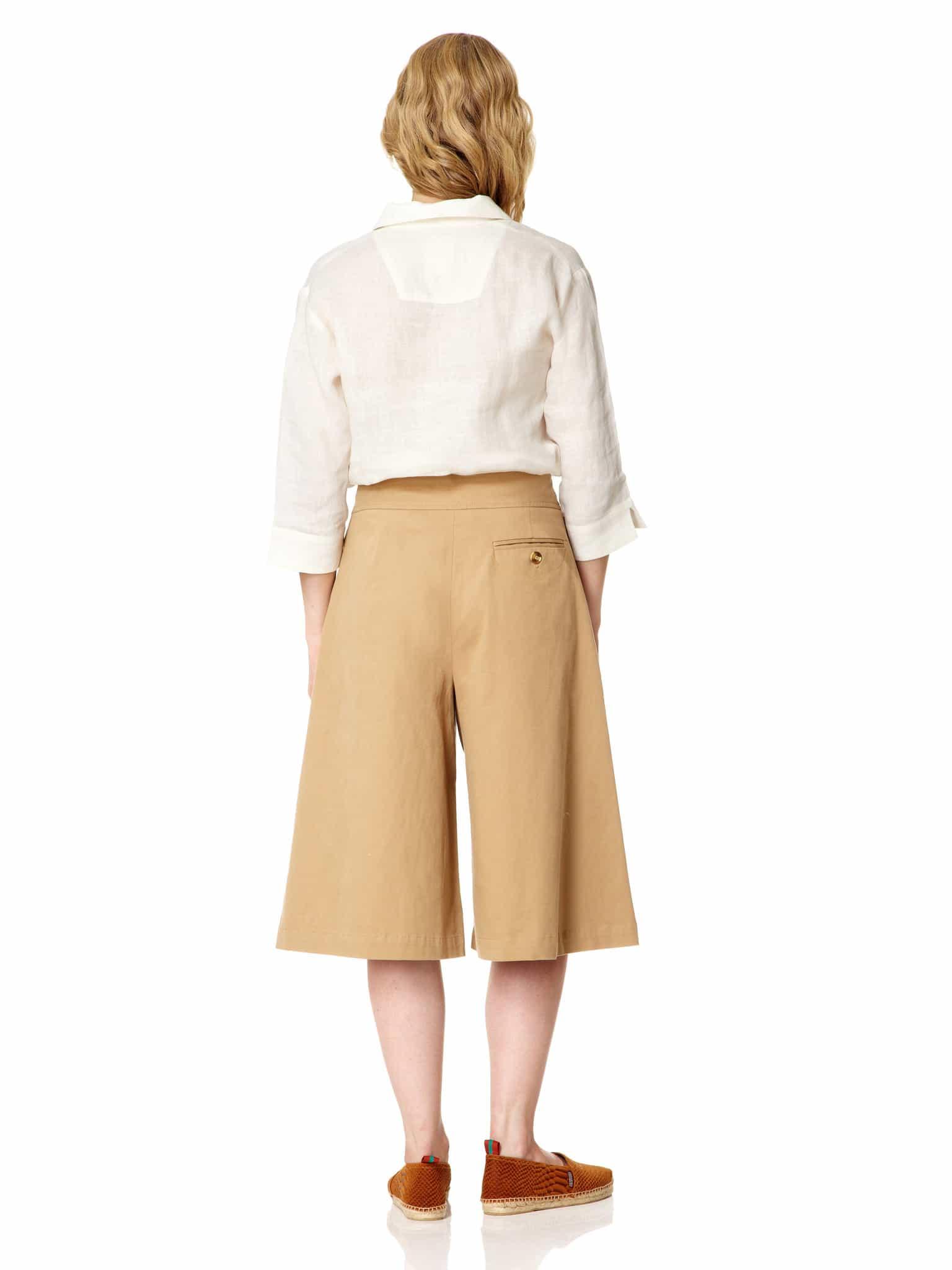 Cotton Long Culottes