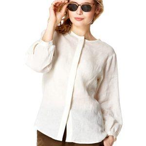Italian Linen Safari Shirt