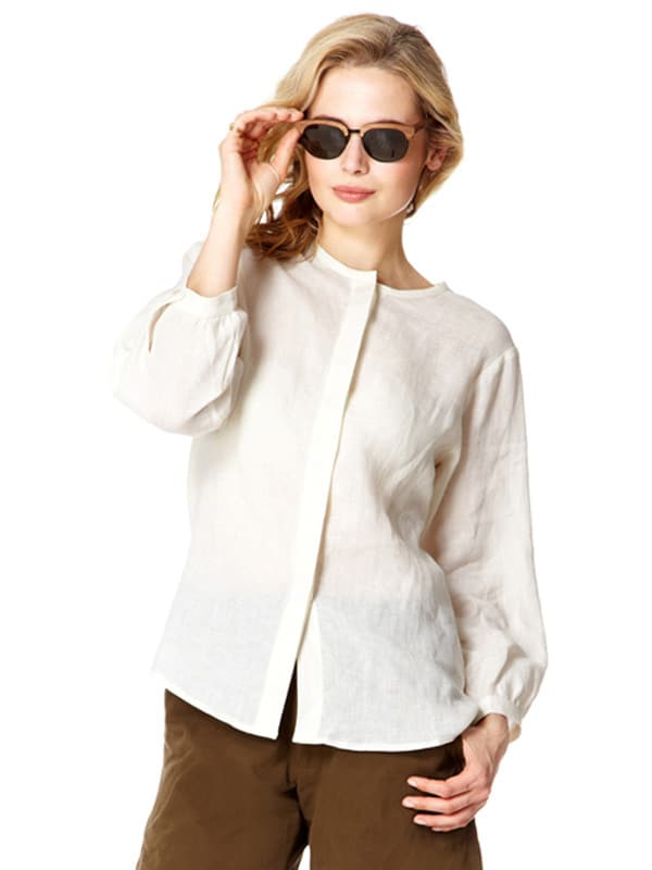 Italian Linen Safari Shirt