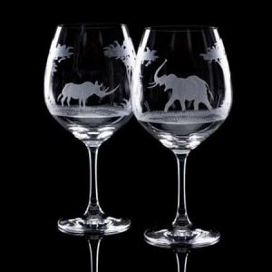 Crystal Wine Goblets - Set Of Six