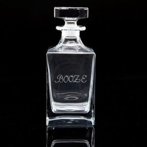 Crystal Whisky Decanter – Booze