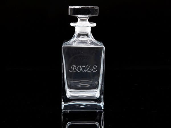 Crystal Whisky Decanter - Booze