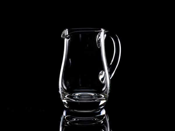 Plain Crystal Water Jug 0.5 Litre