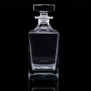Plain Crystal Whisky Decanter