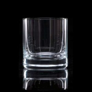 Plain Crystal Whisky Tumbler