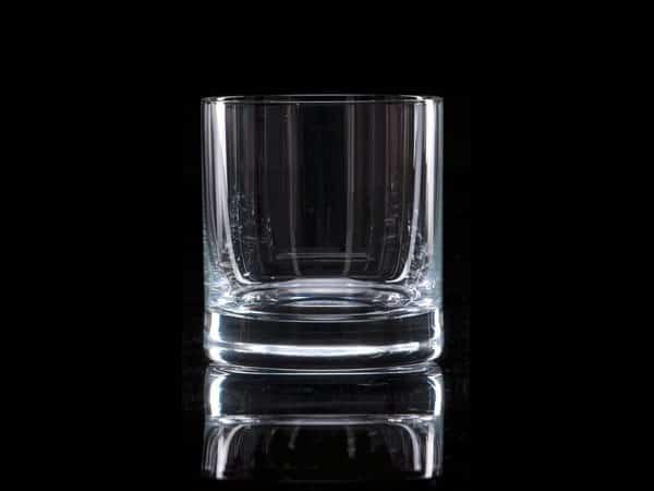 Plain Crystal Whisky Tumbler