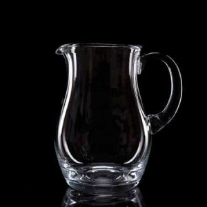 Plain Crystal Water Jug 1 Litre