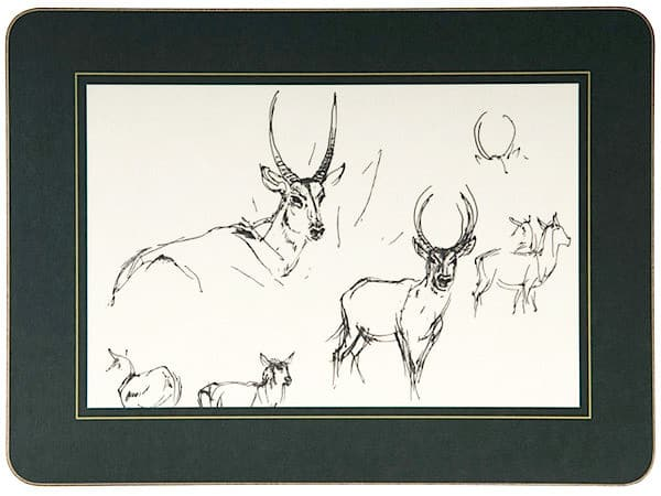 Table Mat - Waterbuck