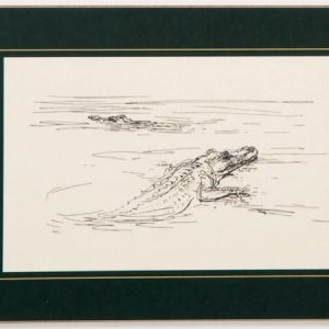 Table Mat – Croc