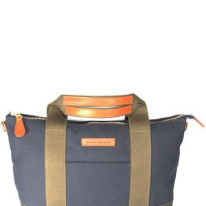 Canvas And Leather Burghley Bag