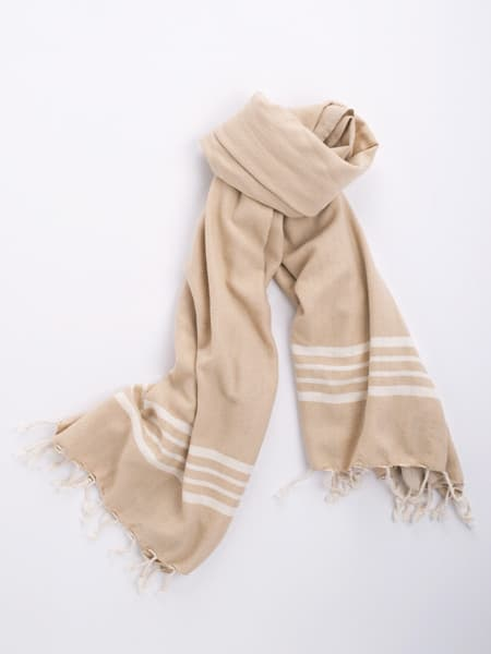 Cotton Hammam Towel - Beige