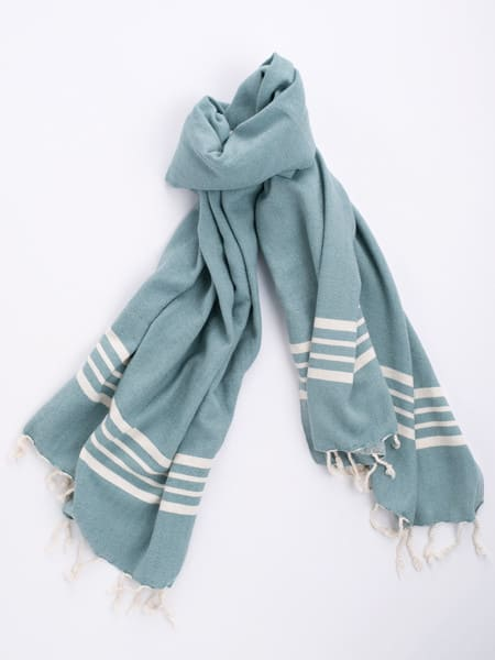 Cotton Hammam Towel - Blue