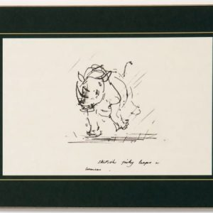 Table Mat – Rhino
