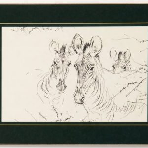 Table Mat – Zebra