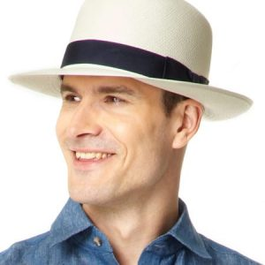 Foldable Panama Hat