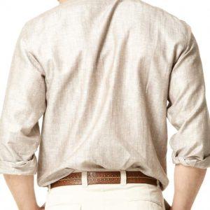 Linen Cotton Blend Shirt