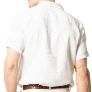 Linen Short Sleeved Shirt