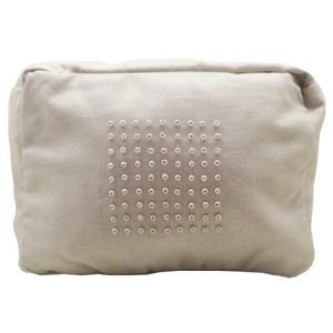 Cotton Wash Bag – Beige