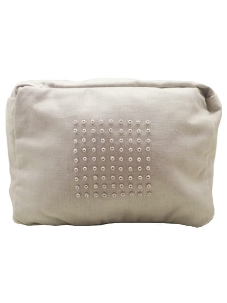 Linen Wash Bag Beige