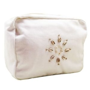 Linen And Cotton Wash Bag – Calico