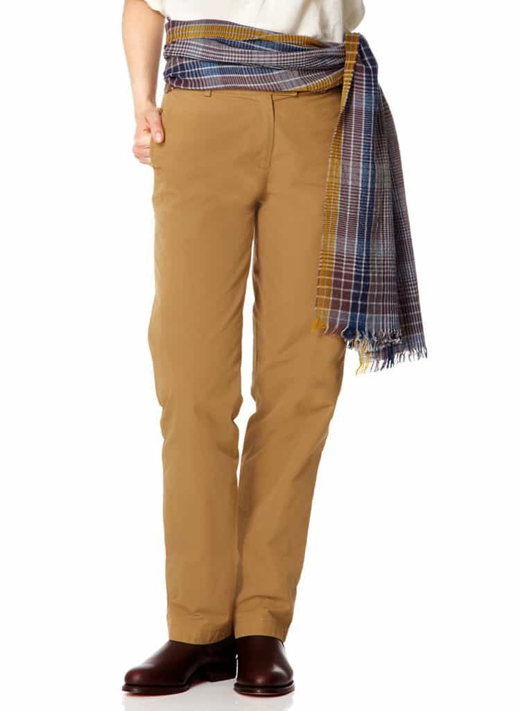 Ladies Cotton Safari Chinos