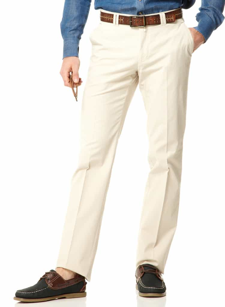 Cotton Chinos - Stone