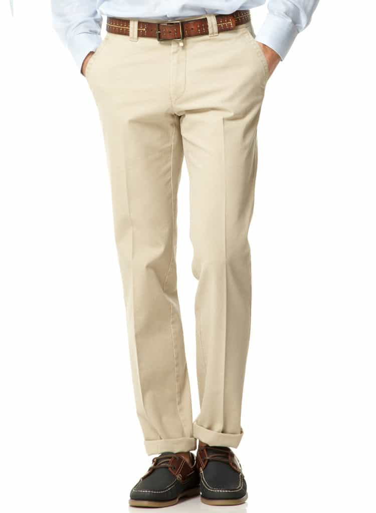 Cotton Chinos - Khaki