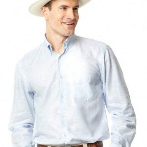 Linen Shirt – Blue