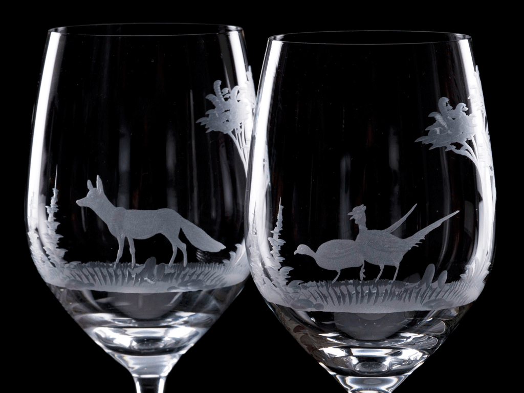 Crystal White Wine Glass