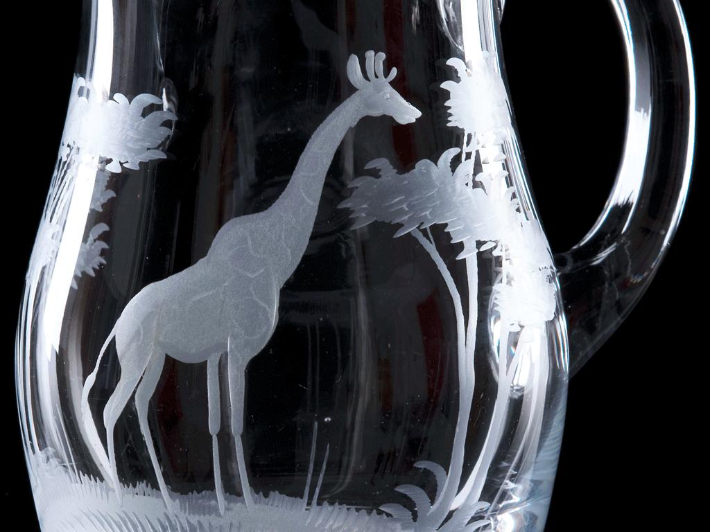 Crystal Ice Jug 1.5 Litre
