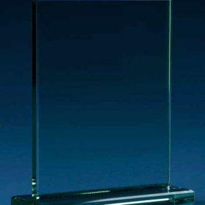 Crystal Trophy Plaque