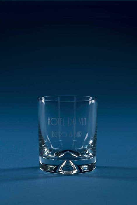Square Crystal Tumbler Glass