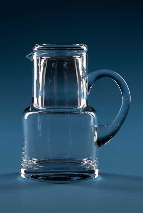 Crystal Water Carafe and Tumbler Glass
