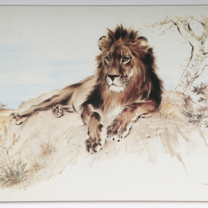 Serving Mat – Lion