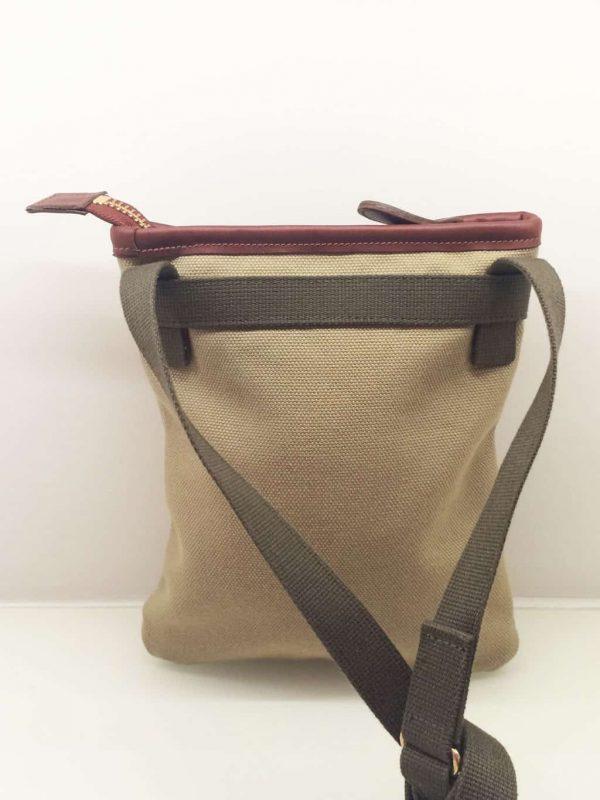 Canvas And Leather Savannah Bag