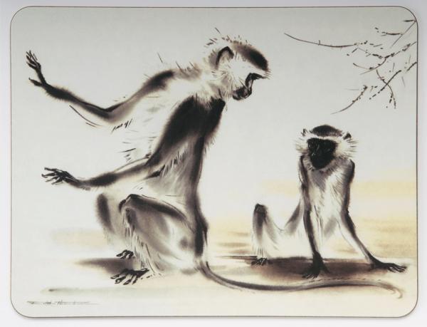 Table Mat - Monkeys