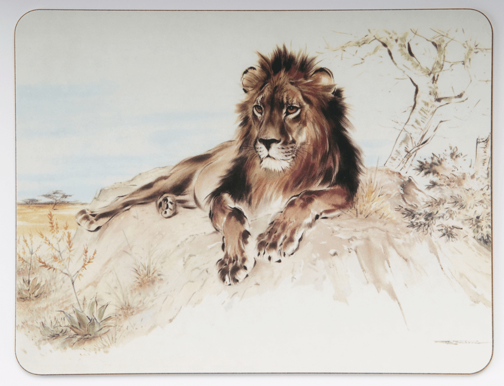 Table Mat - Lion