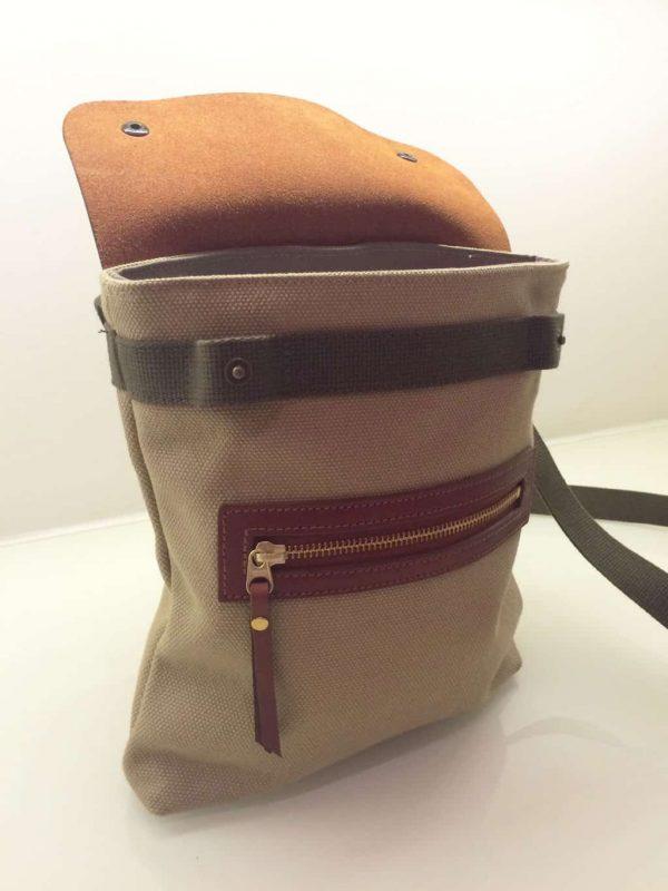 Canvas And Leather Kalahari Bag