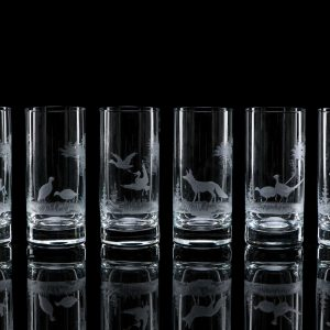 Crystal Highball Glasses – Set Of Six