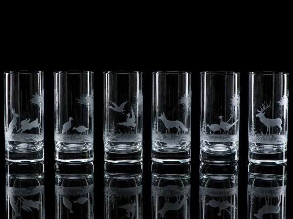 Crystal Highball Glasses - Set Of Six