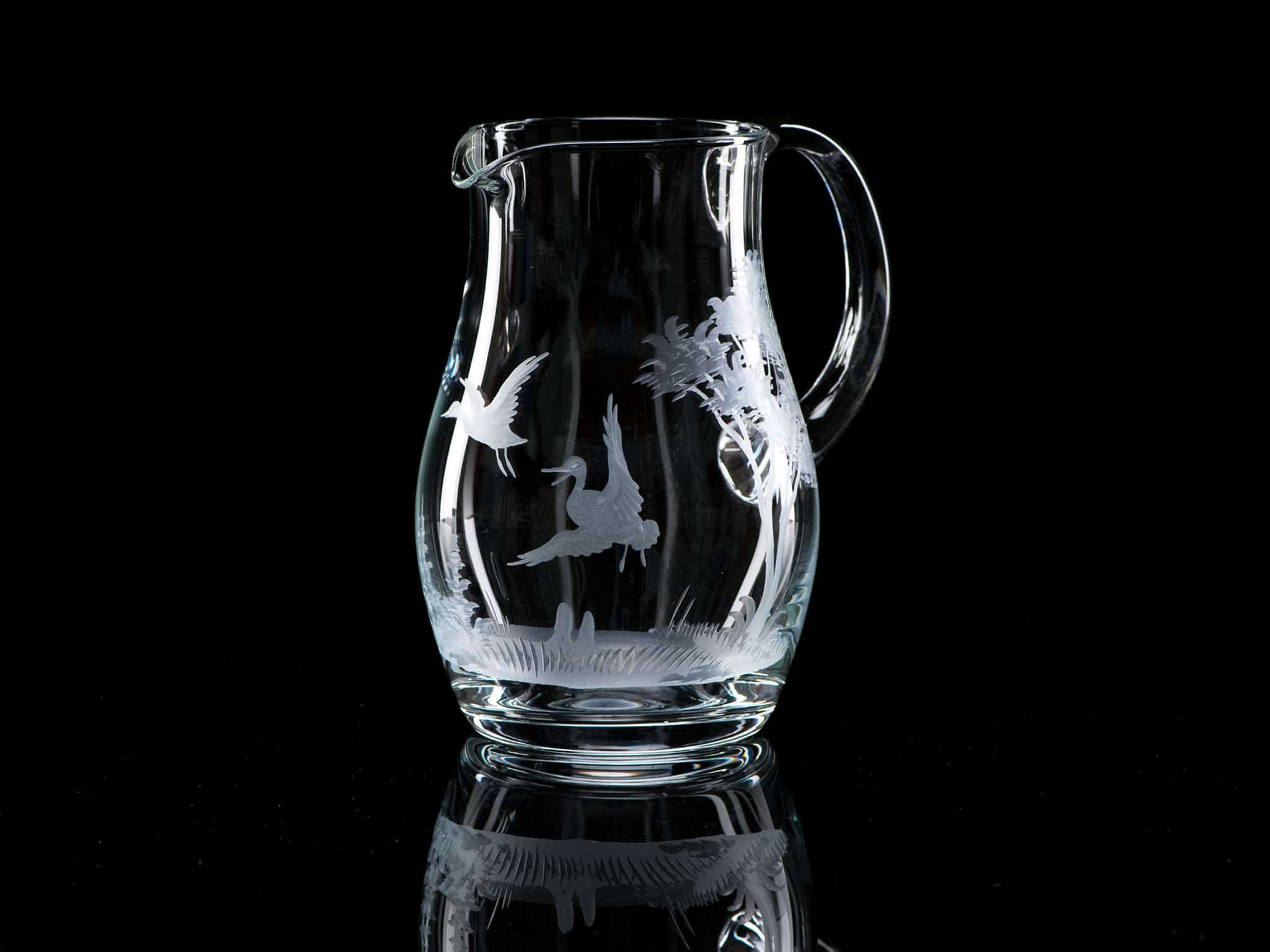 Litre Crystal Glass Water Jug