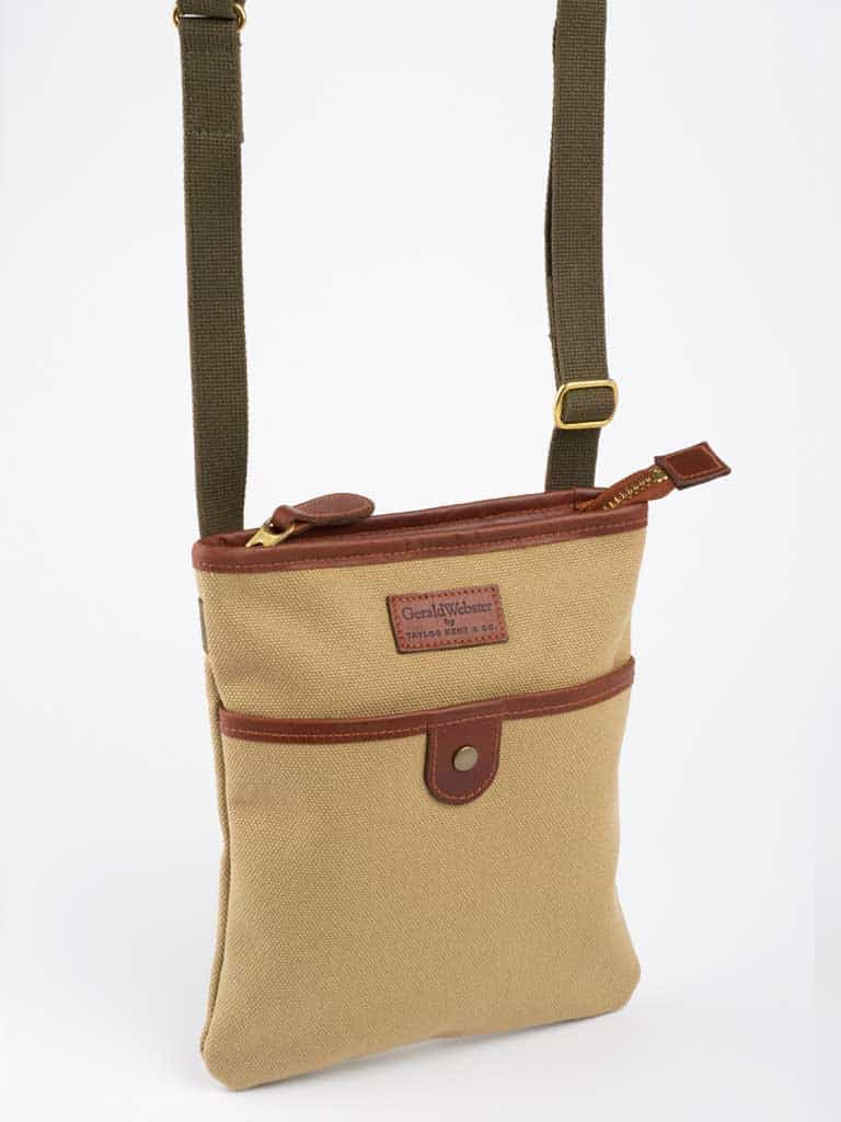 Canvas and Leather Savannah Bag