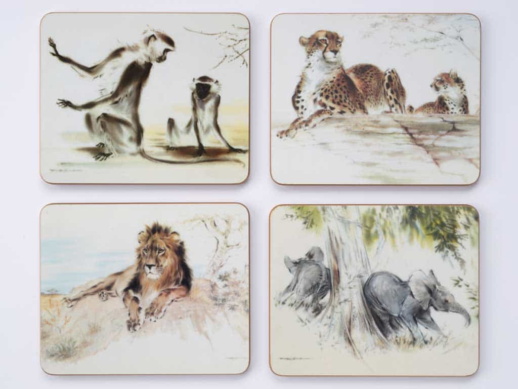 Coasters - Set of Four